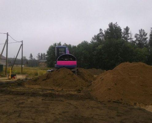 земляные работы перед фундаментом