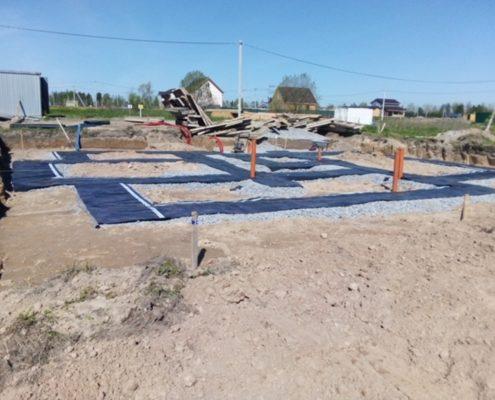 строительство фундамента под ключ в Москве и Области