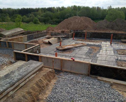 строительство фундамента под ключ в Москве