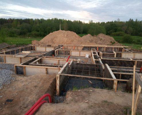 строительство фундамента под ключ цена