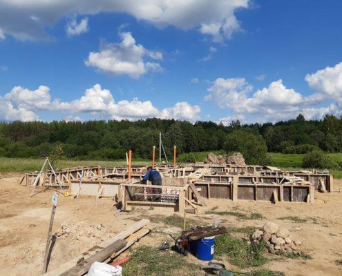 строительство фундамента под ключ заказать